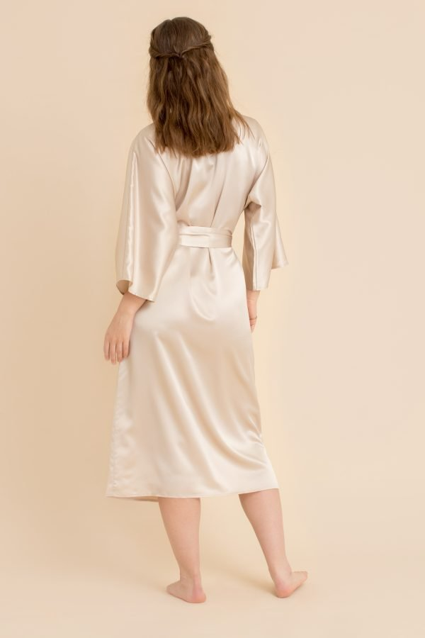 Kimono i silke